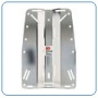 BACKPLATE STAINLESS STEEL